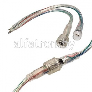 Разъем: F/M 22AWG*4pins L170mm IP65