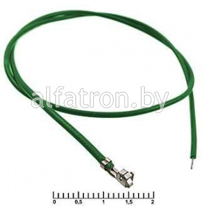 Разъем: H 2,54 mm AWG26 0,3m green