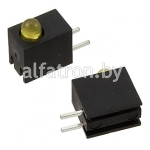 Св.диод в корпусе: 3mm*1  1.5-5v 4Lm  yellow   15