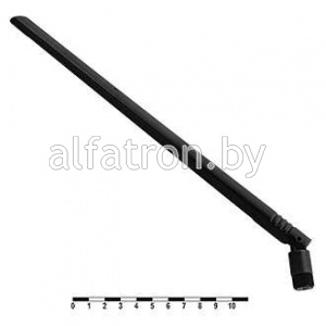 Антенна WiFi: Antenna Wi-Fi 7dB black SMA-J