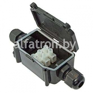 Коробка распред-ая: BOX-2 IP65 2pin CA10 10A/450V
